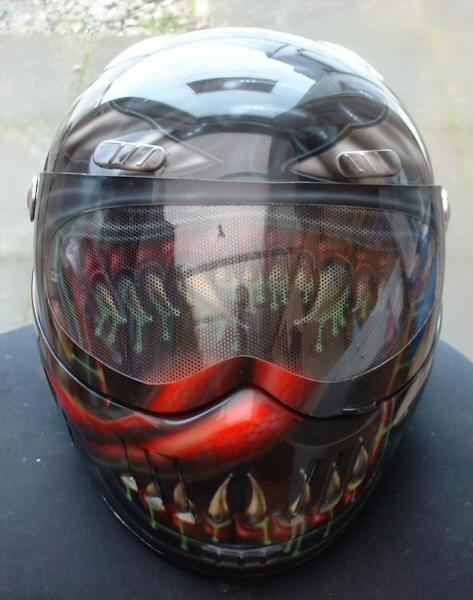 Venom Motorcycle Helmet Venom Helmet